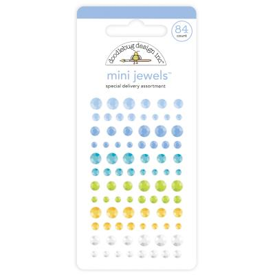 Doodlebug Baby Boy Designpapier - Sticker - Mini Jewels