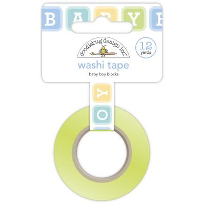 Doodlebug Baby Boy Washi Tape - Baby Boy Blocks