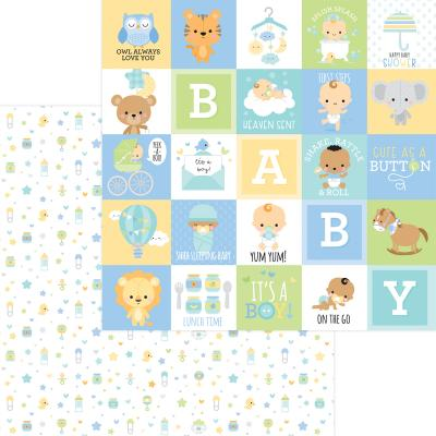 Doodlebug Baby Boy Designpapier - Little One