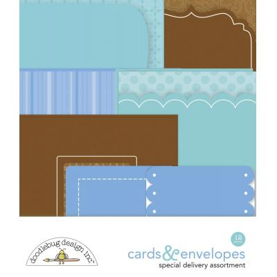 Doodlebug Baby Boy - Cards & Envelopes