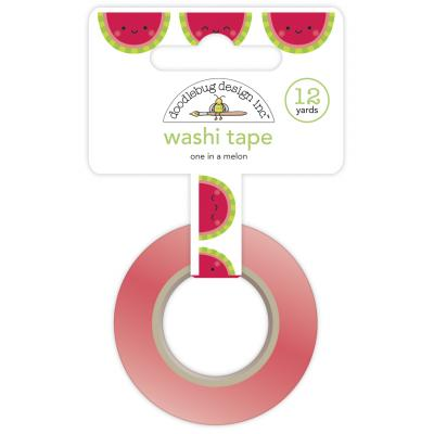 Doodlebug Bar-B-Cute Washi Tape - One In A Melon