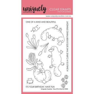 Uniquely Creative Clear Stamps - One Of A Kind