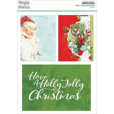 Simple Stories Simple Vintage North Pole - Sn@p! Card Pack