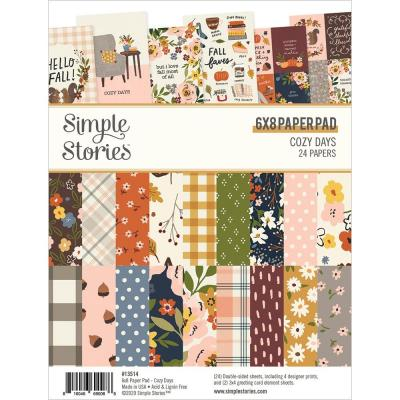 Simple Stories Cozy Days Designpapier - Paper Pad