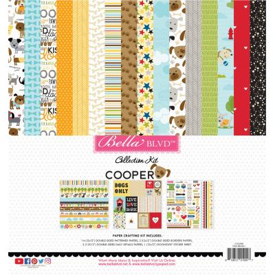 Bella BLVD Cooper Designpapier - Collection Kit