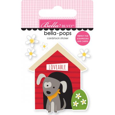 Bella BLVD Cooper Bella-Pops Sticker - Doghouse
