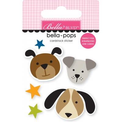 Bella BLVD Cooper Bella-Pops Sticker - Pups