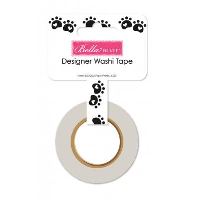 Bella BLVD Cooper Washi Tape - Paw Prints
