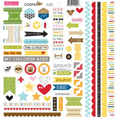 Bella BLVD Cooper Cardstock Sticker - Doohickey