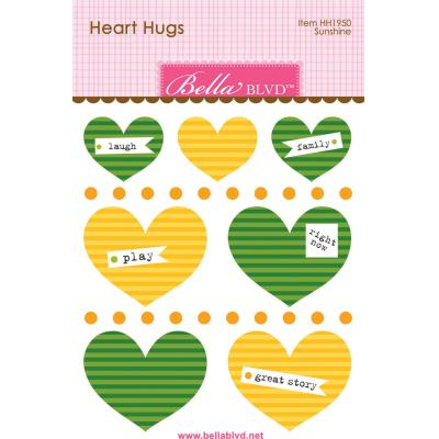 Bella BLVD Cooper Sticker - Sunshine Heart Hugs
