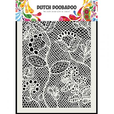 Dutch Doobadoo Stencil - Zentangle