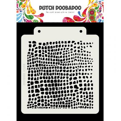 Dutch Doobadoo Stencil - Crocodile