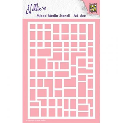 Nellies Choice Stencil - Rectangles