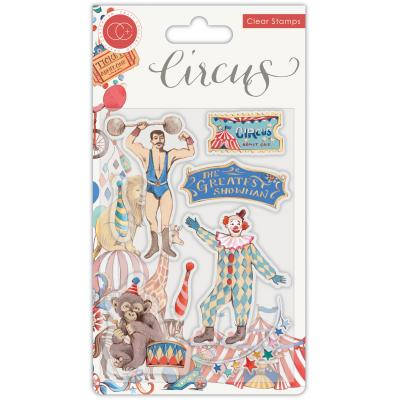 Craft Consortium Circus Clear Stamps - Greatest Show