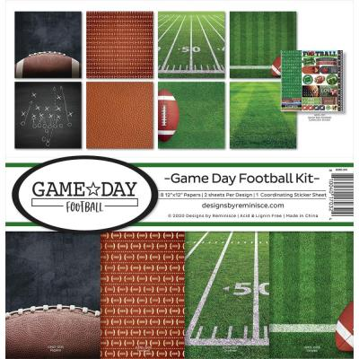 Reminisce Designpapier - Game Day Football