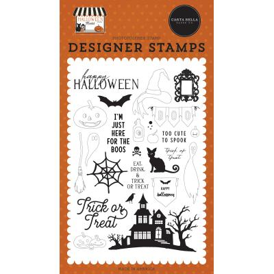 Carta Bella Halloween Market Clear Stamps - Haunted Night