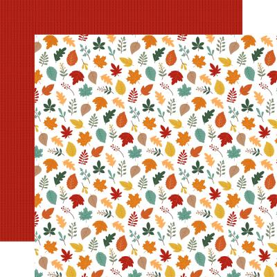 Echo Park Happy Fall Designpapier - Welcome Fal