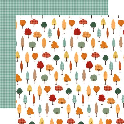 Echo Park Happy Fall Designpapier - Fall Forest