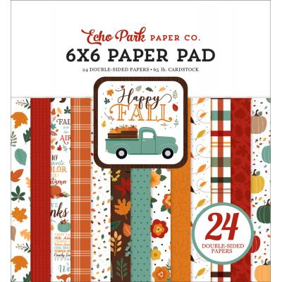 Echo Park Happy Fall Designpapier - Paper Pad