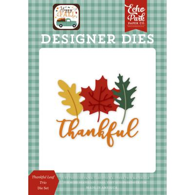 Echo Park Happy Fall Die Set - Thankful Leaf Trio