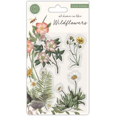 Craft Consortium At Home in the Wildflowers Clear Stamps - Flora