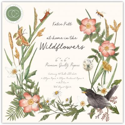 Craft Consortium At Home in the Wildflowers Designpapier - Paper Pad