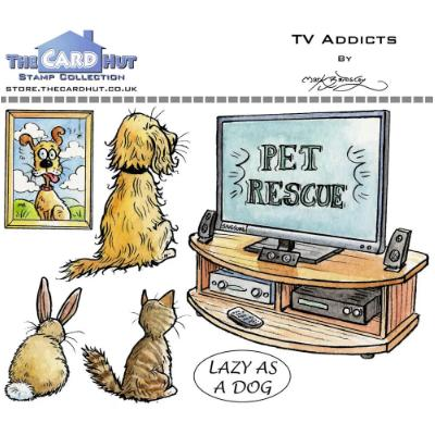 The Card Hut Clear Stamps - TV Addicts