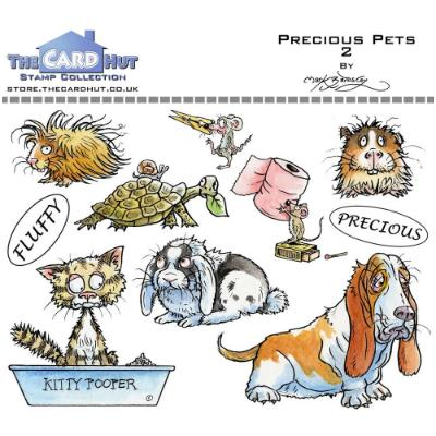 The Card Hut Clear Stamps - Precious Pets