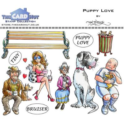 The Card Hut Clear Stamps -  Puppy Love