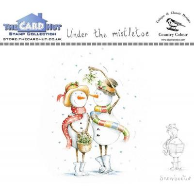 The Card Hut Clear Stamps - Under the Mistletoe