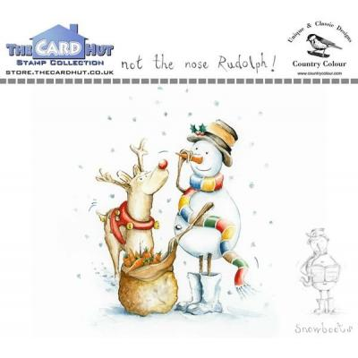 The Card Hut Clear Stamps -  Not the Nose Rudolph