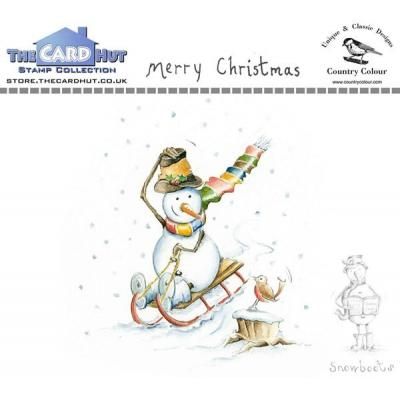The Card Hut Clear Stamps - Merry Christmas