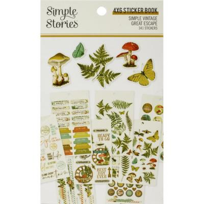 Simple Stories Simple Vintage Great Escape - Stickers