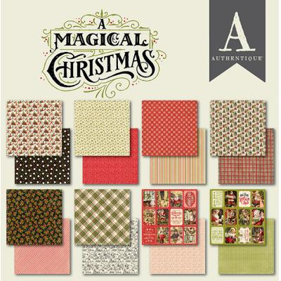Authentique Designpapier A Magical Christmas - Paper Pad