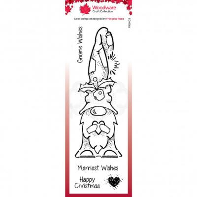 Creative Expressions Clear Stamps - Gnome Wishes