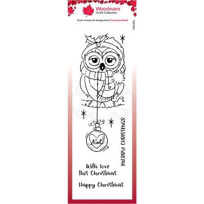 Creative Expressions Clear Stamps - Bauble Owl