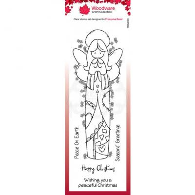 Creative Expressions Clear Stamps - Patch Angel