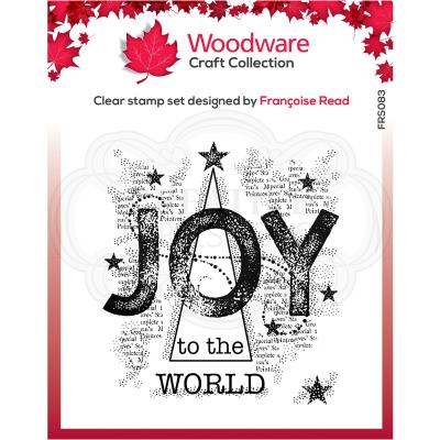 Creative Expressions Clear Stamps - Joy