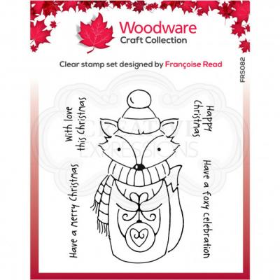 Creative Expressions Clear Stamps - Foxy Christmas