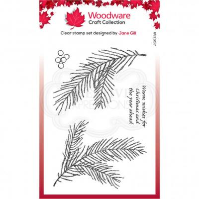 Creative Expressions Clear Stamps - Pine Branch