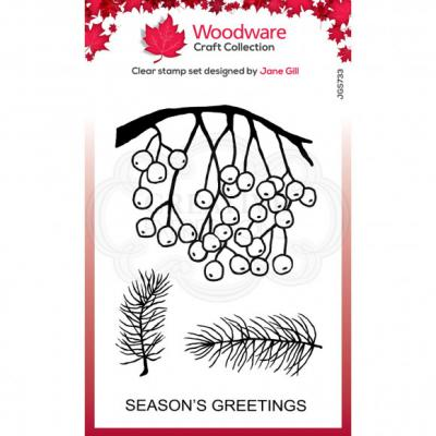 Creative Expressions Clear Stamps - Hanging Berries
