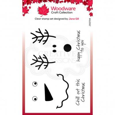 Creative Expressions Clear Stamps - Festive Faces
