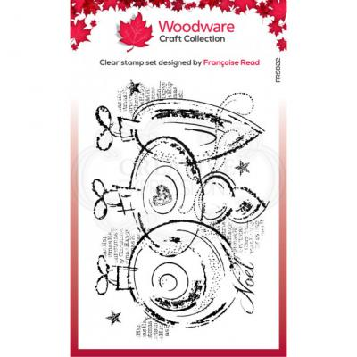 Creative Expressions Clear Stamps - Three Baubles