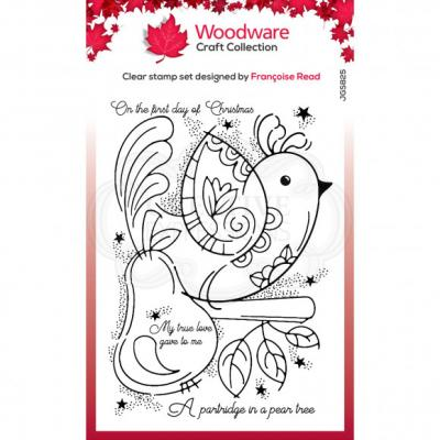 Creative Expressions Clear Stamps - Partridges