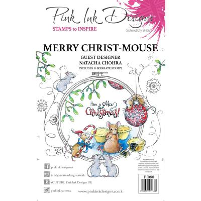 Creative Expressions Clear Stamps - Christ Mouse