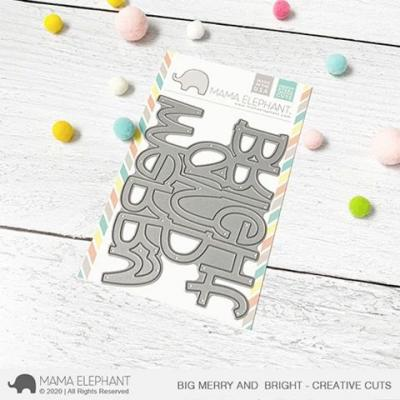 Mama Elephant Creative Cuts - Big Merry and Bright