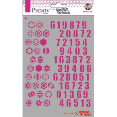 Pronty Stencil - Numbers