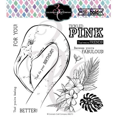 Colorado Craft Clear Stamps - Tickled Pink