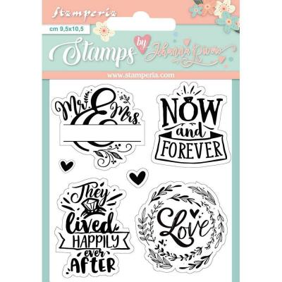 Stamperia Clear Stamps - Now and Forever