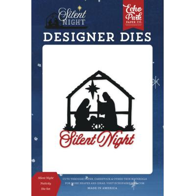 Echo Park Silent Night Die Set - Silent Night Nativity